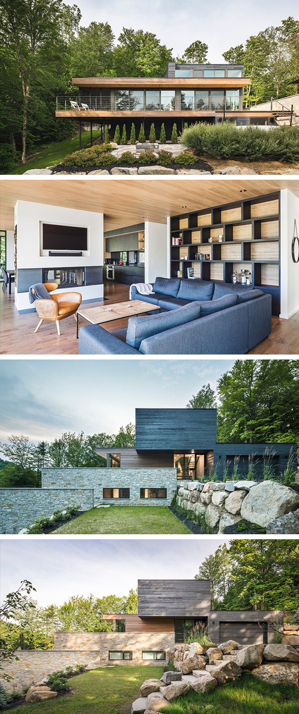 Estrade residence by mu architecture in quebec canada