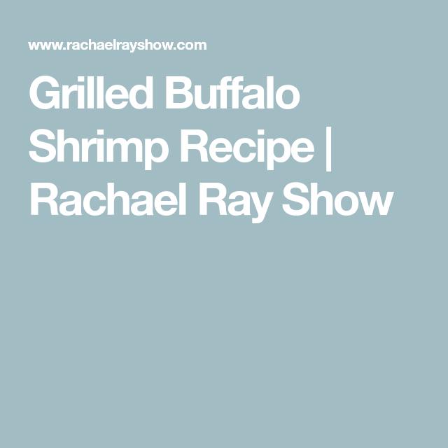 Grilled Buffalo Shrimp With Yogurt Blue-Ranch Dip