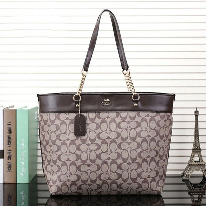 Coach Logo Monogram Lz729 Tote In