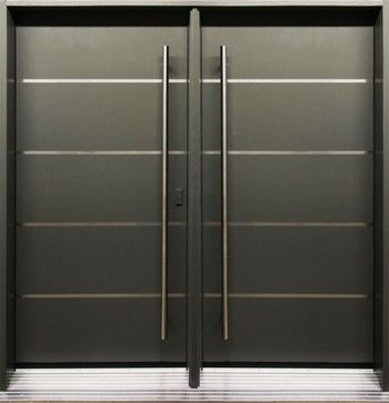 Modern Front Entry Doors Double Entry Door From Thermoluxe