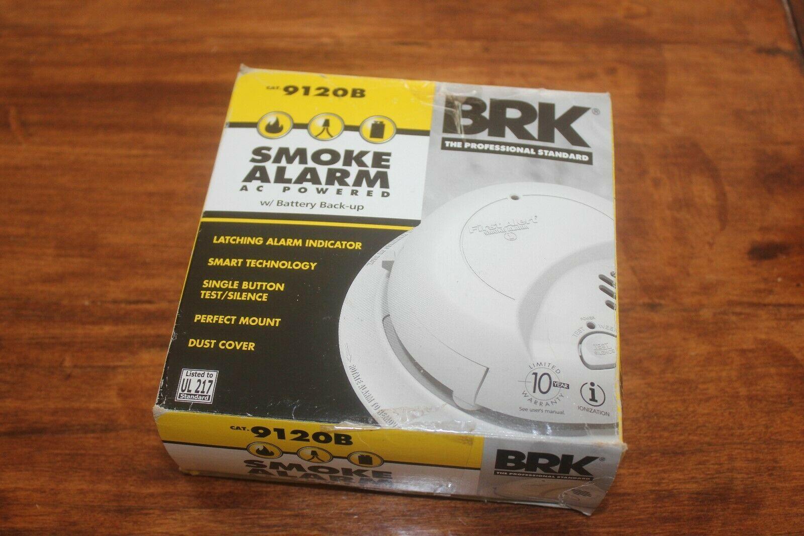 First Alert Brk Brands 9120b Hardwired Smoke Alarm With Battery Backup Single Battery Backup Smoke Alarms Alarm
