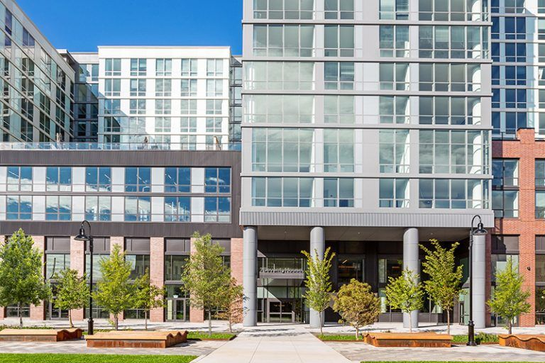 7 Seventy House Leasing Accelerates At 770 Jackson Street In Hoboken New Jersey New York Yimby Hoboken Exterior Brick Lease