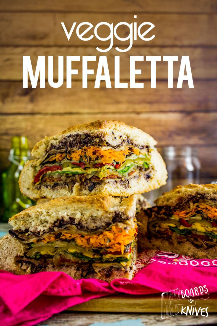 veggie muffaletta (vegan picnic food) | Vegan Recipes ...