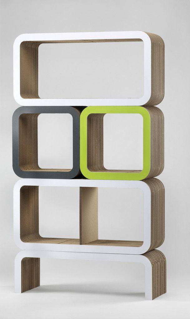 Composizione Arredo In Cartone Moretto N.9 Lessmore Ecodesign ...