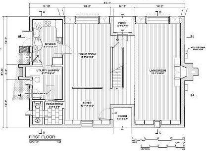 Beau Margaret Esherick House Plan