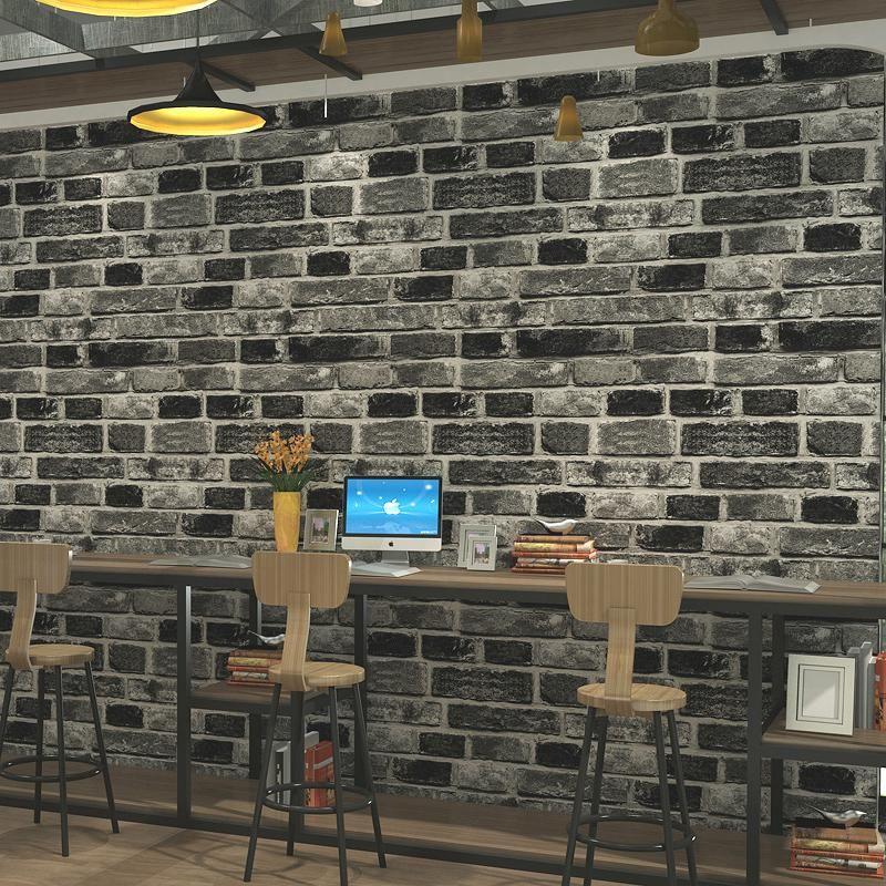 Faux Brick WallPaperRed (5.3 ㎡) Faux brick wallpaper