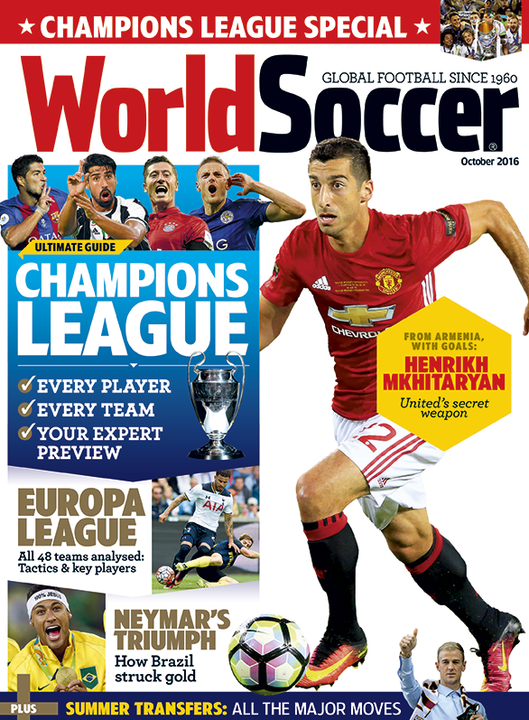 World Soccer Cover World Soccer Magazine Sports Magazine Sports