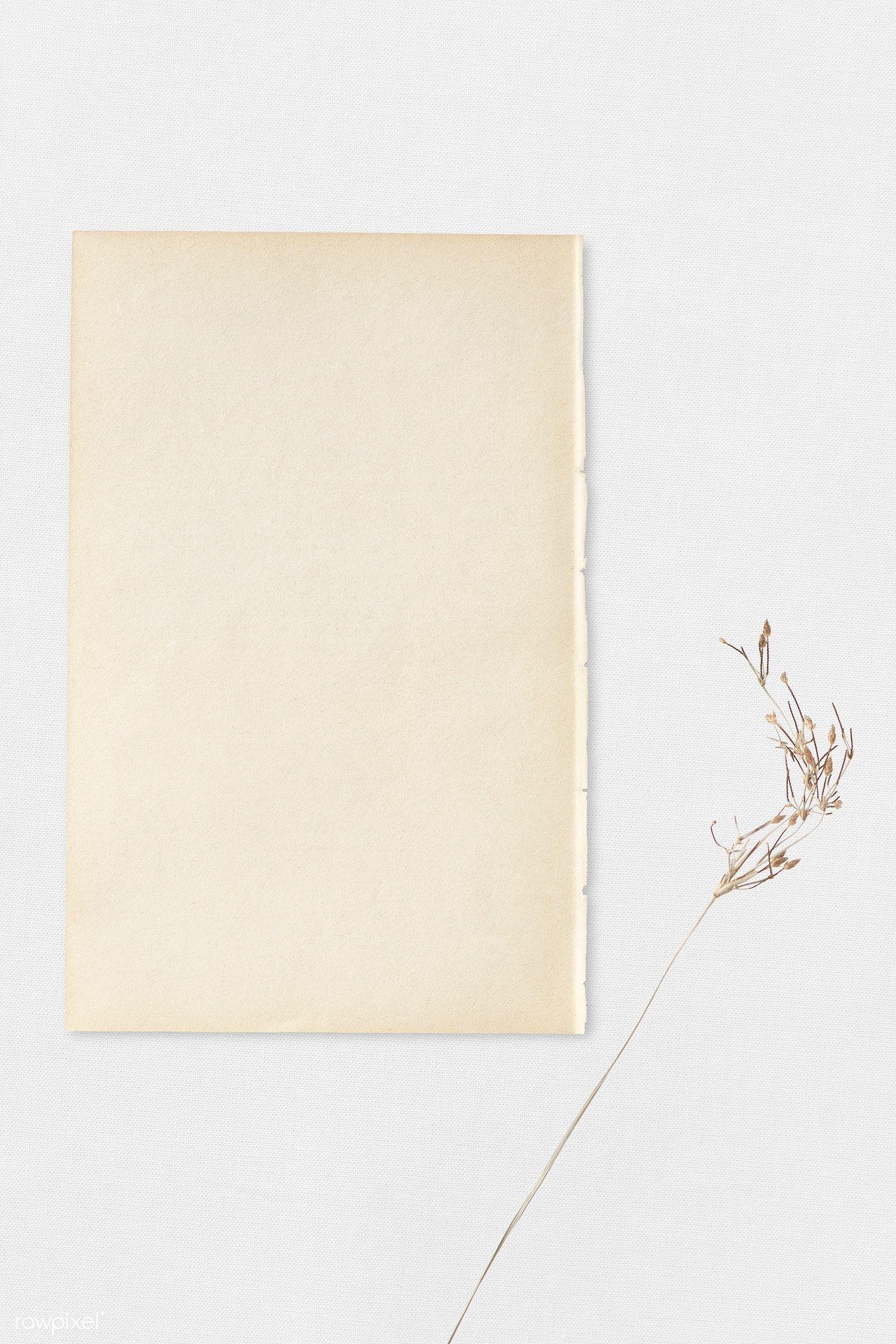 Blank Vintage Craft Paper Template Premium Image By Rawpixel Com Kutthaleeyo Template Vintagedesig Vintage Paper Template Paper Template Vintage Template