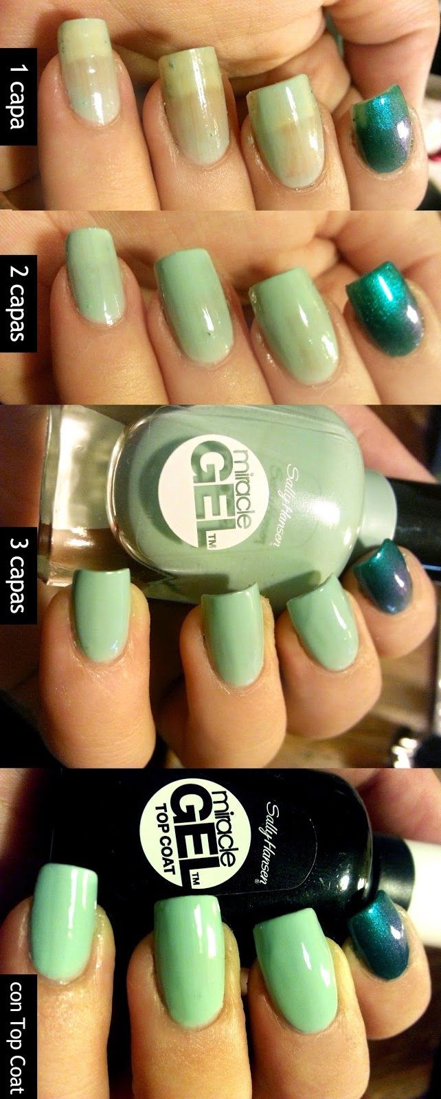 Sally Hansen Miracle Gel put to the test! Does it really last 14 ...