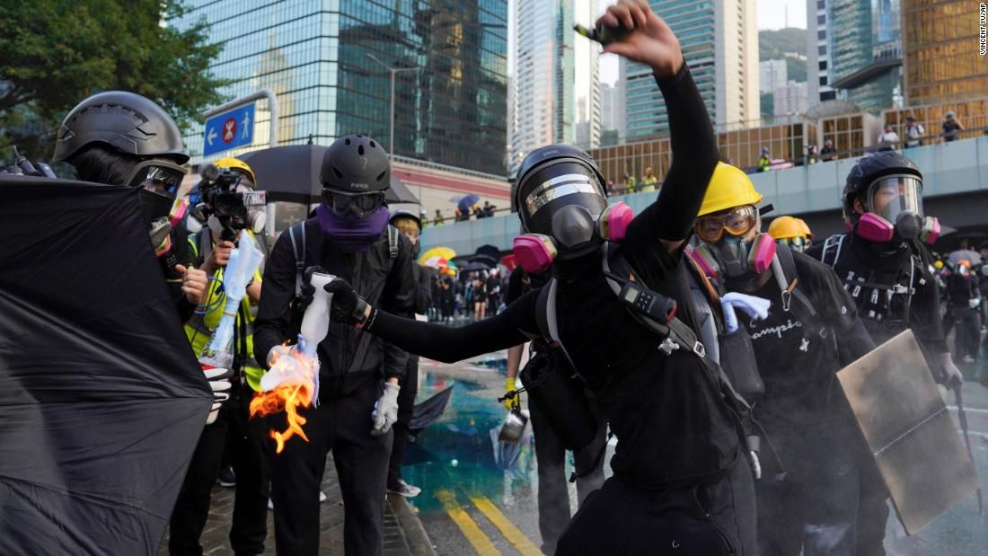 Hong Kong banned masks to stop protests. It sparked