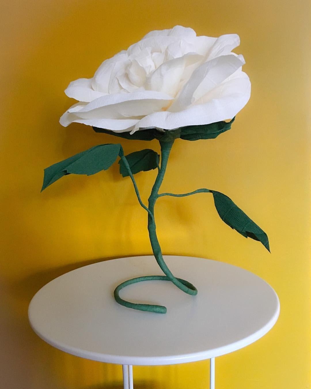 Paper rose in italian crepe paper paper flowers pinterest