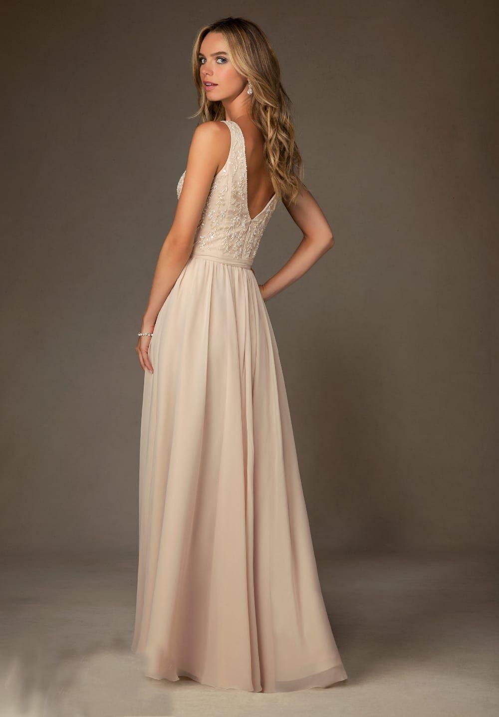 2020 Silver Sparkly Prom Dress Long V Neck Beaded A Line