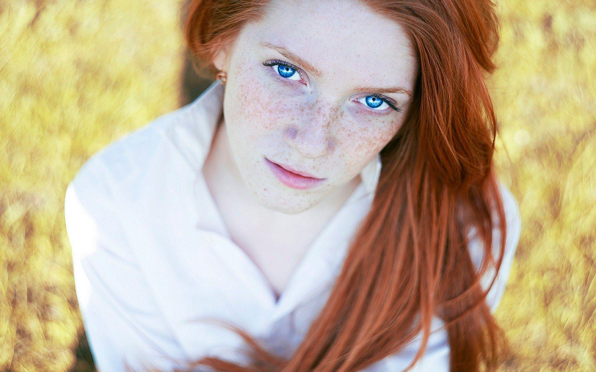 Pale white redhead — 13