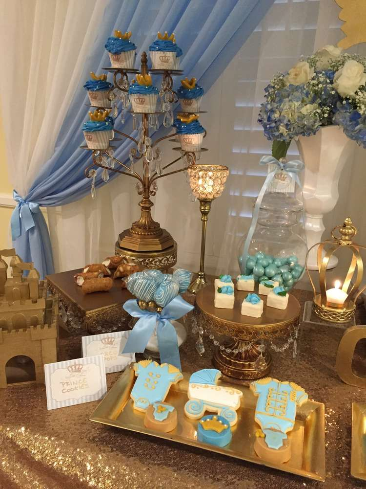 Prince Baby Shower Party Ideas | Photo 4 of 7 | Catch My ...