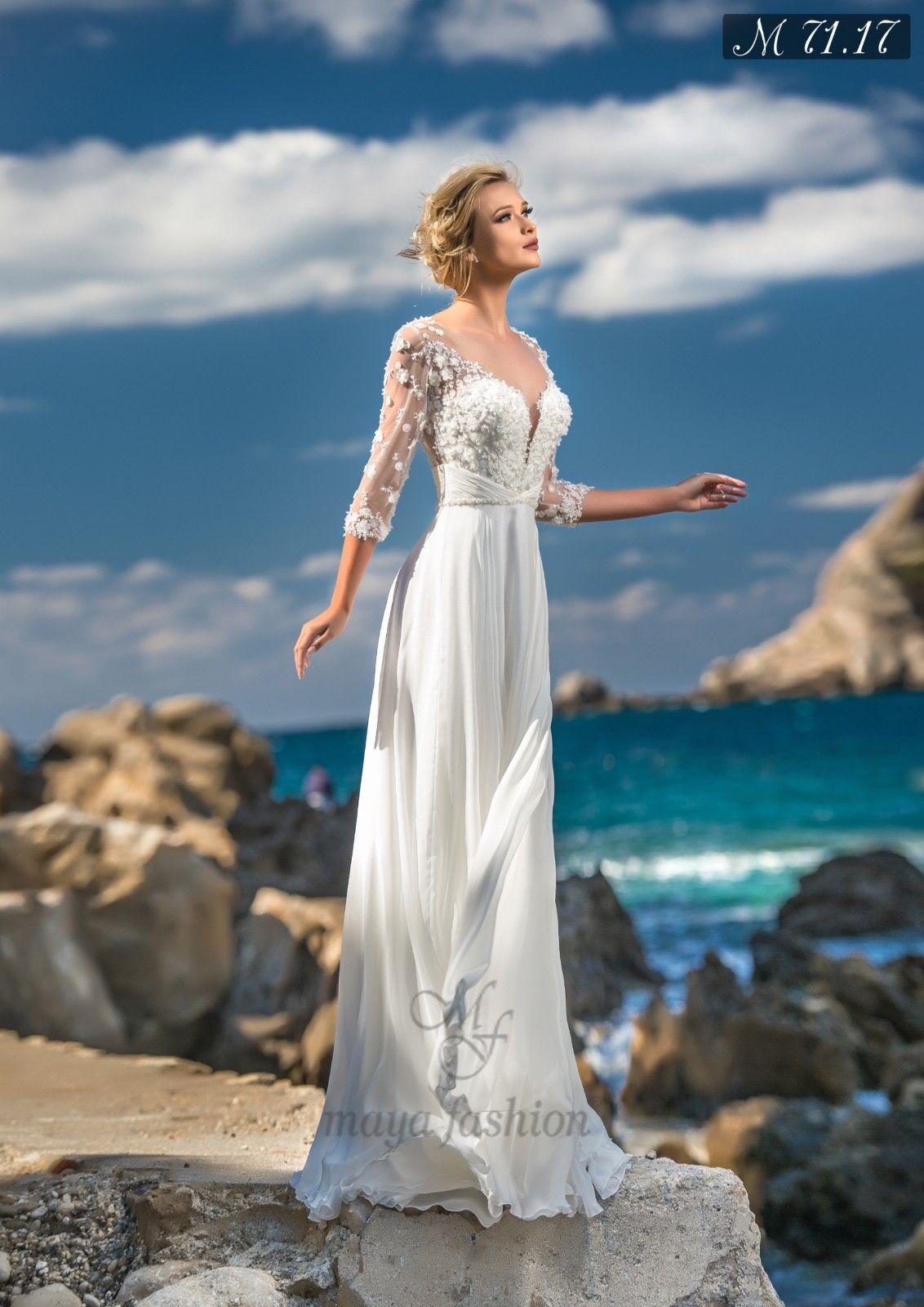 Rochie Mireasa M71.17 MayaFashion | Vestidos de novia 5 | Pinterest ...