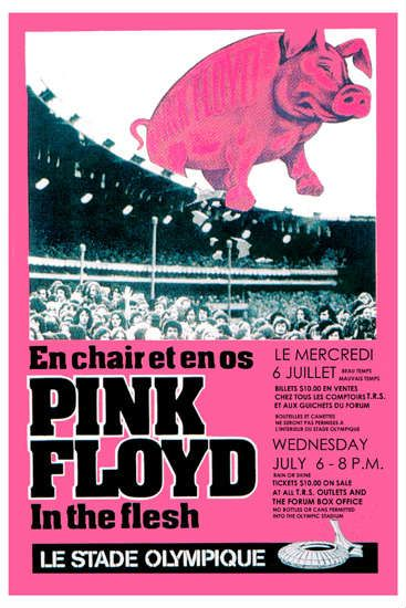 Pink Floyd - Le Stade Olympique, Montreal Canada (July 1977)