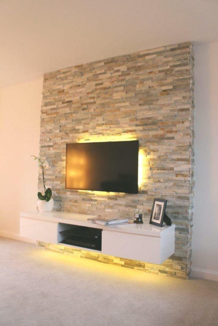 Spektakuläre innere wände wände wohnzimmer. in 10  Fernsehwand