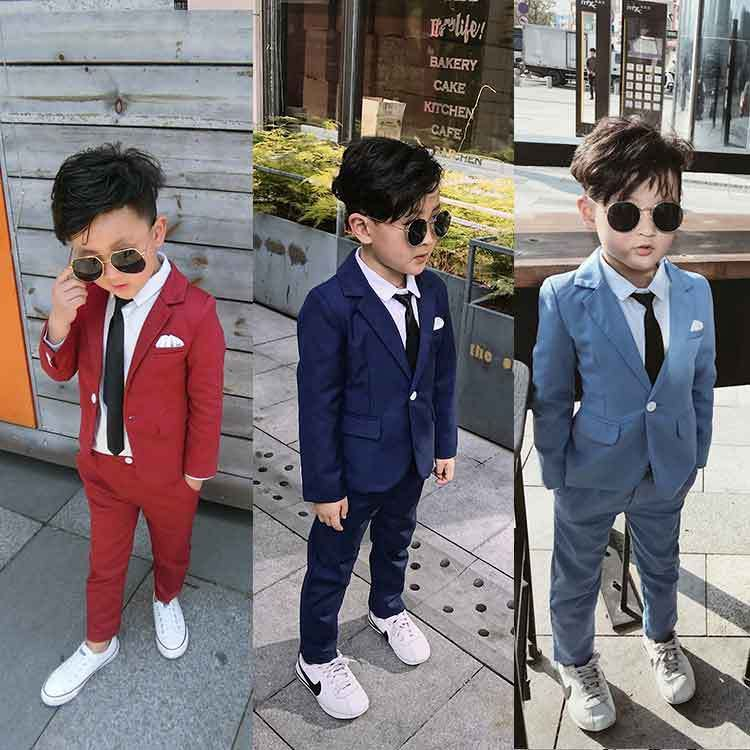Cheap Boys Suits Buy Quality Wedding Suit Boy Directly From China Boy Tuxedo Suit Suppliers Boy Red Blue Suit Wedding Cl Kids Suits Kids Suit Boys Boys Suits
