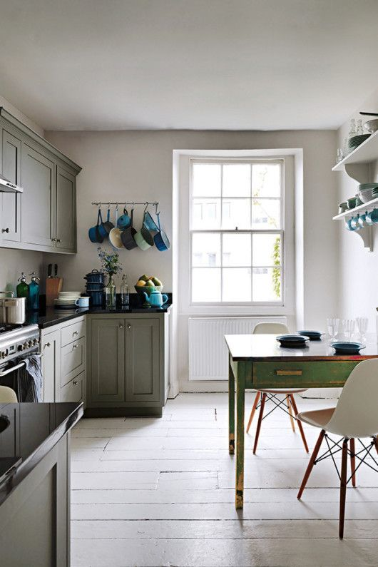 A Few Shades Of Gray Georgian Homes Interior Design Kitchen