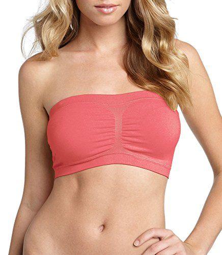 OLLIE ARNES Womens Padded Bandeau Bra Bikini Tube Top