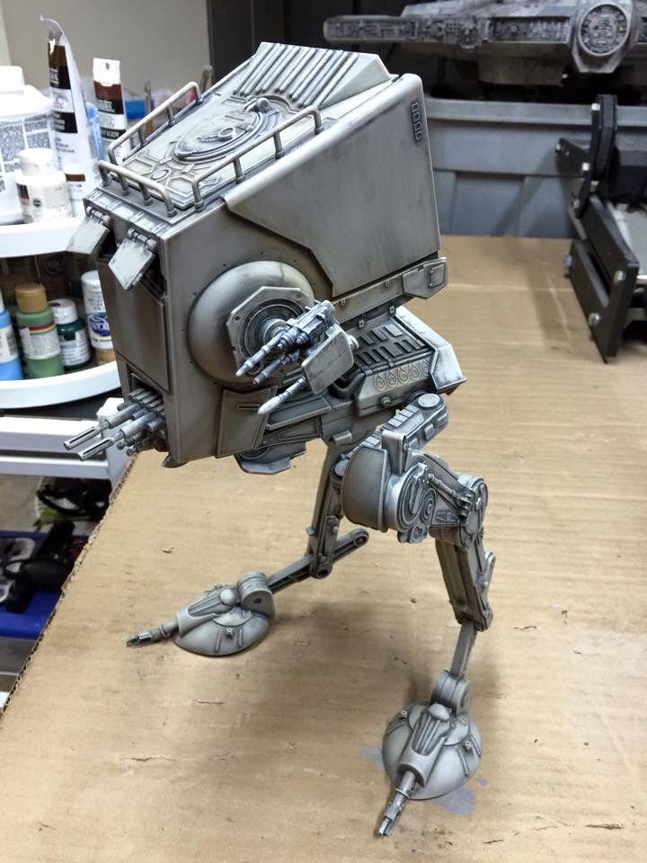 AT-ST custom paint by MirkoFx Studio | Star Wars Walker