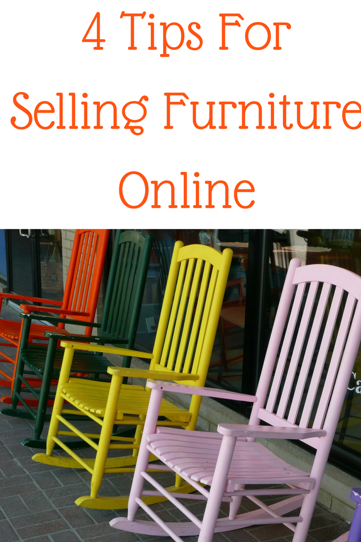 4 Tips For Selling Furniture Online