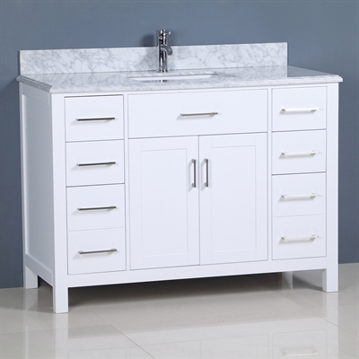 Shop Golden Elite 48 In Carrera Vanity At Lowe S Canada Find Our