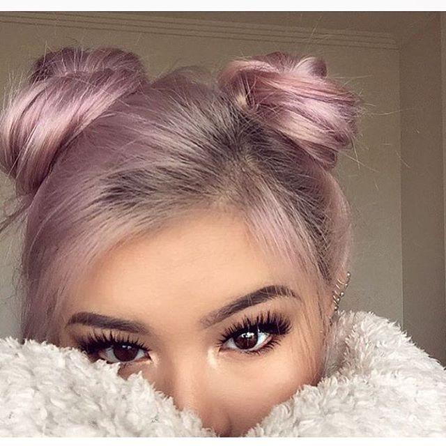 #pinkhair #unicornhair #mermaidhair