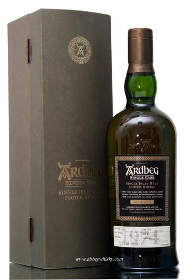 Ardberg Single Malt Scotch Whisky.