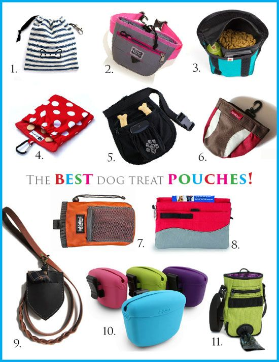 DOG TRAINING: THE 11 BEST DOG TREAT POUCHES | Pawsh ...