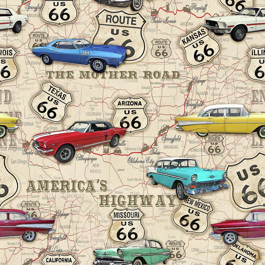 Driving Route  Through Arizona ROAD TRIP USA US Route - Map of us 66