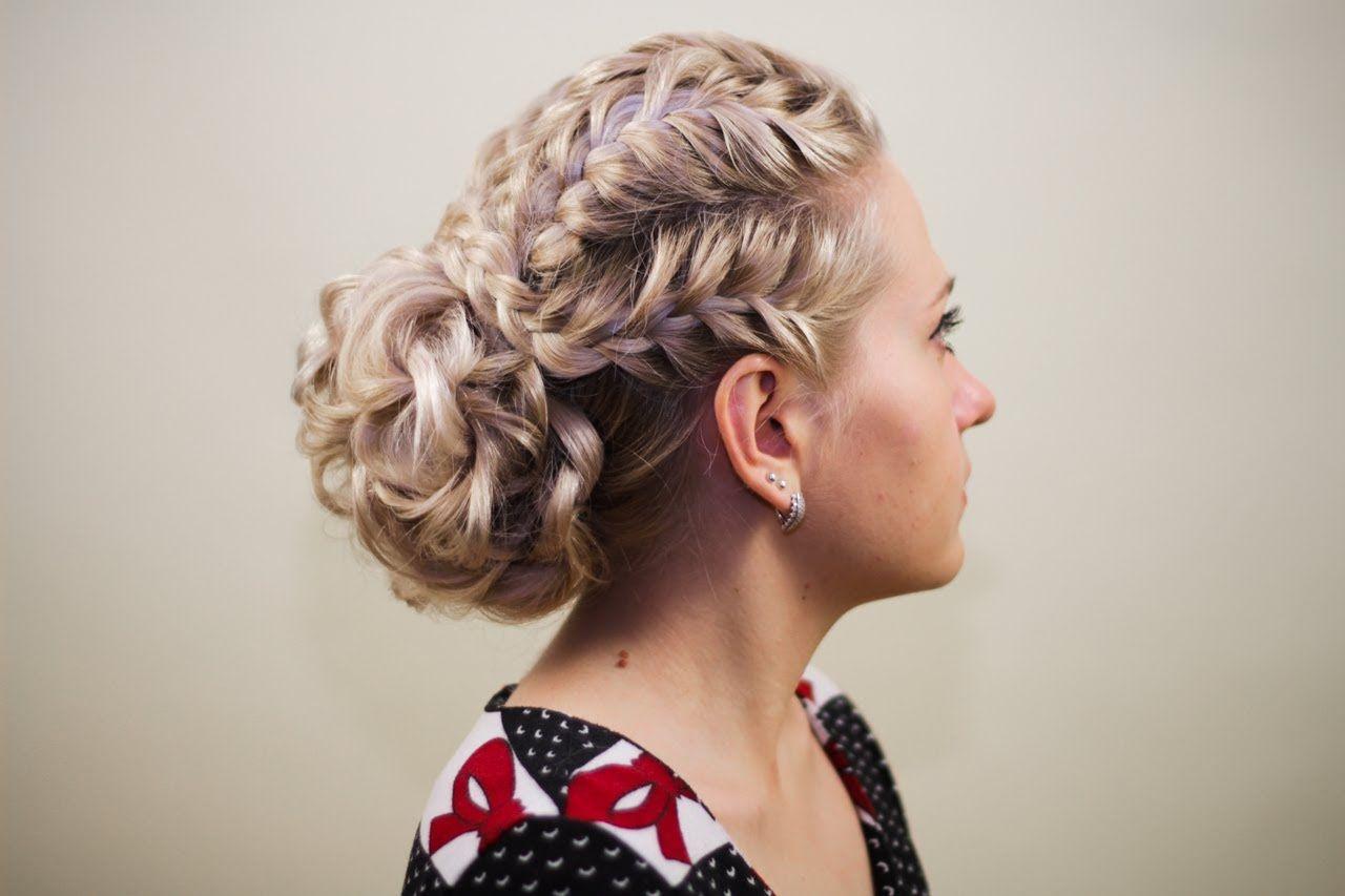 Hair how to braided updo hair tutorials pinterest updo