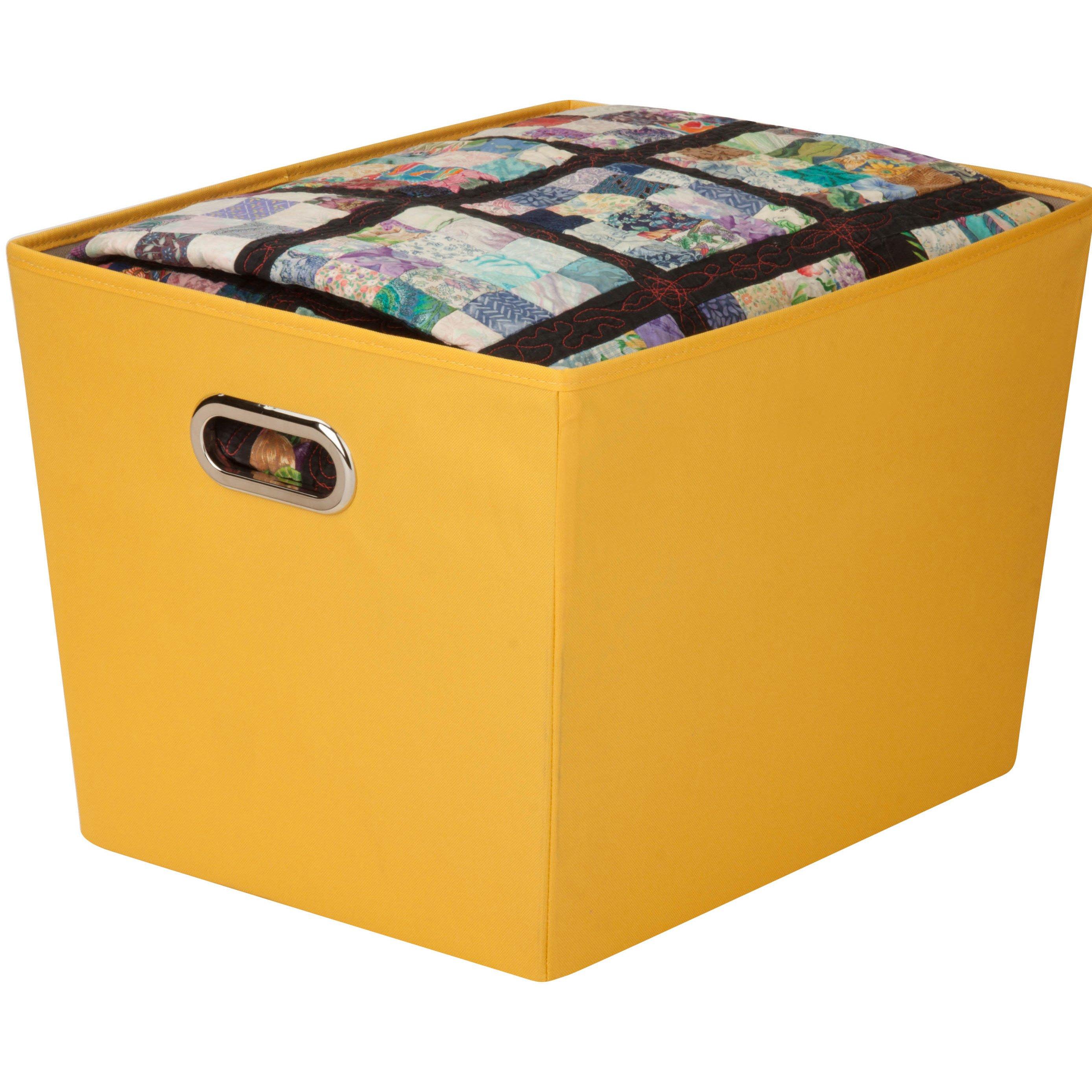 Decorative Storage Bin 18 5 X14 X12