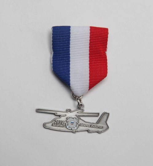 U S  Coast Guard Fiesta medal, not for sale  | San Antonio