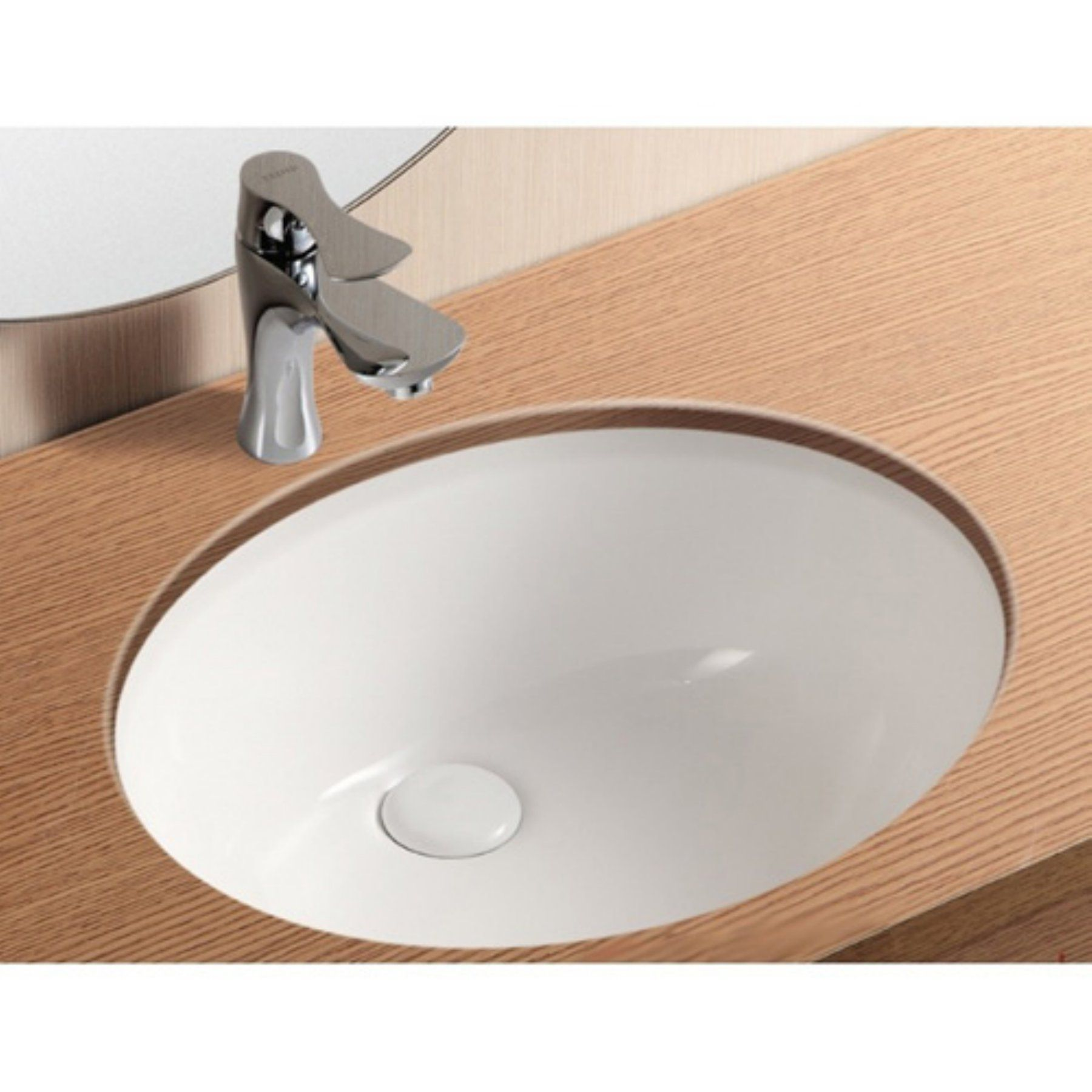 Caracalla By Nameeks Ca90816 Bathroom Sink White Caracalla