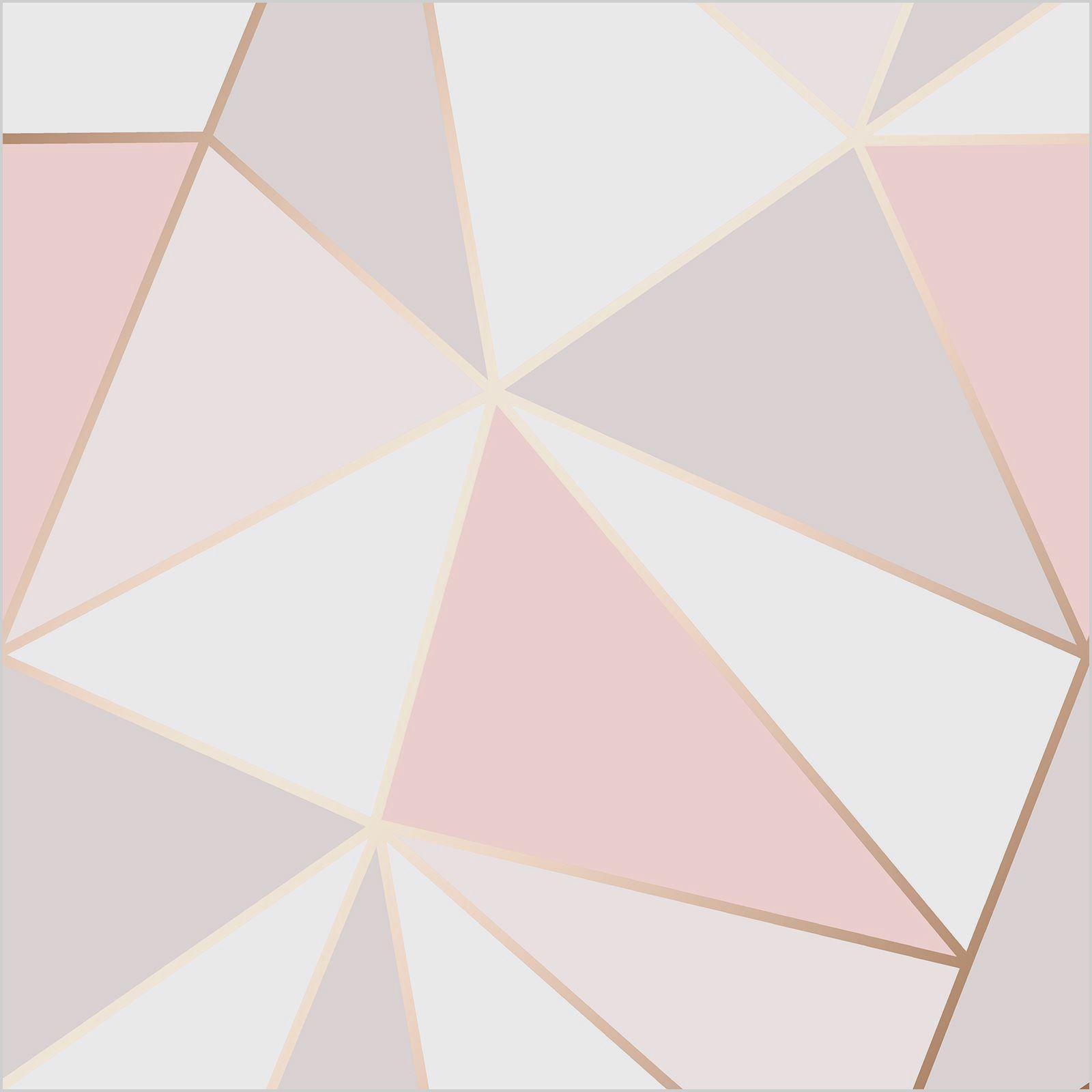 Rose Gold And Grey Bedroom Wallpaper Ide Kamar Tidur Geometri Kertas Dinding Bedroom wallpaper rose gold