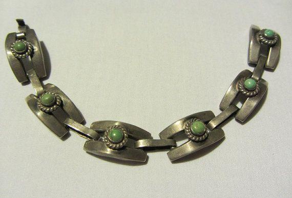 Vintage Sterling Modernist Swirl Pin or Brooch Mexico MARICELA -Ysidro GARCIA Pina