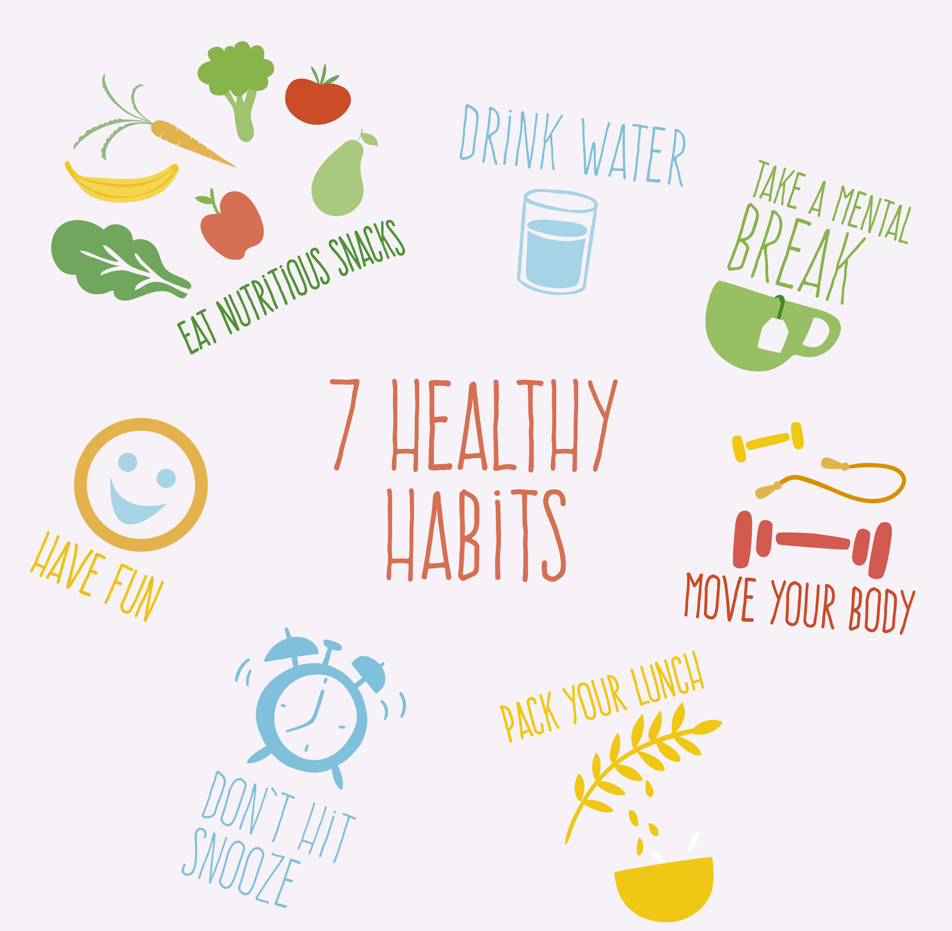 7 Healthy Habits For A More Productive Work Day