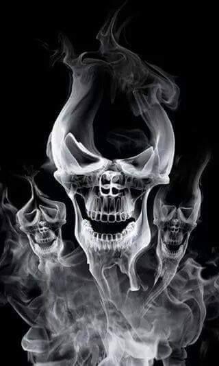 Pin By Michael Pisarevsky On Skulls My Obsession Skull Artwork Skull Wallpaper Smoke Tattoo