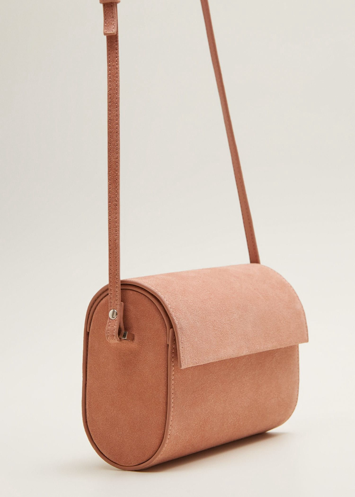 Leather cylinder bag by Mango   Products   Leather, Bags, Mango 7785e26a8b9