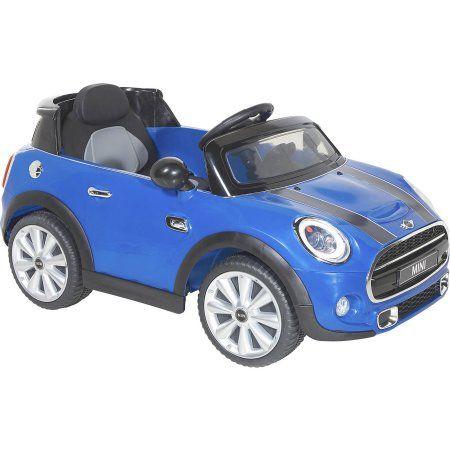 Mini 6v Battery Powered Cooper Walmart Com Kids Ride On Toys Childcare Mini Cooper