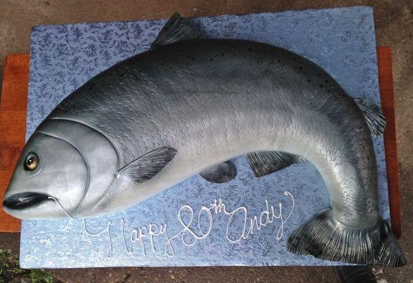 Fabulous Salmon Cake Salmon Cakes Fish Cake Birthday Salmon Fish Cakes Birthday Cards Printable Opercafe Filternl