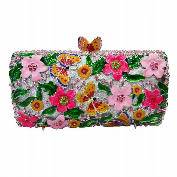 187cdca0a3d Pin by rissa on accessories | Clutch bag, Bags, Luxury flowers