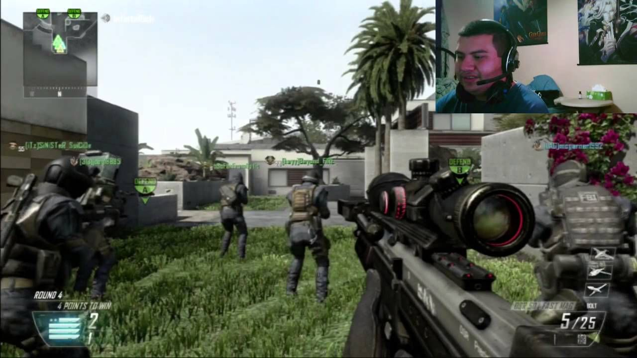 BO2 1st night Face Cam S&D