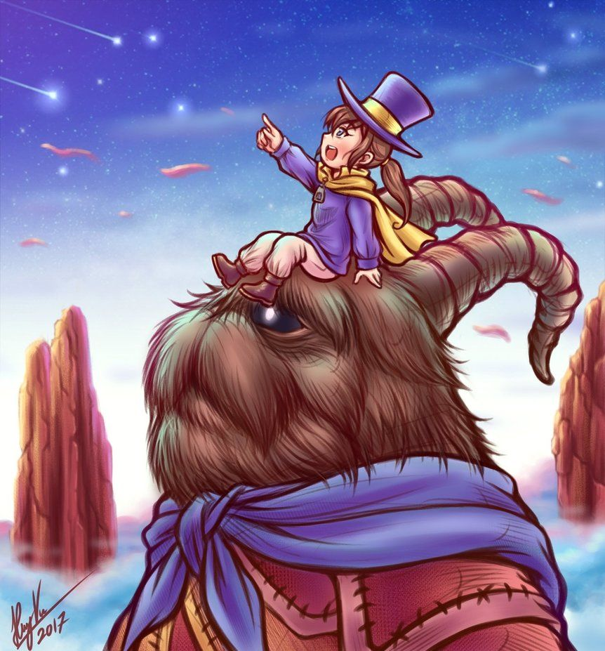 Alpine Skyline Scenery A Hat In Time By Thaumana A Hat In Time Hat In Time A Hat In Time Art