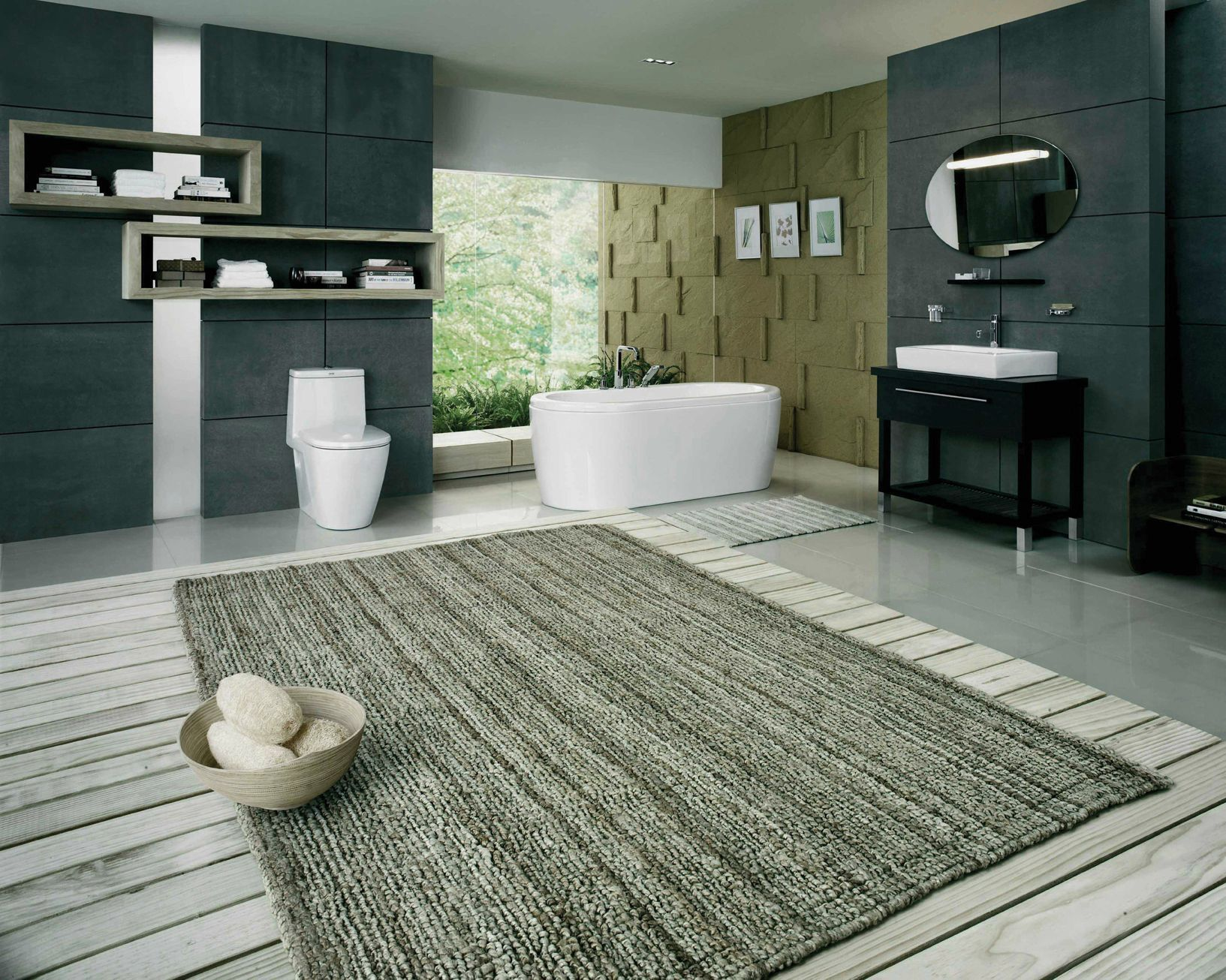 Bust Of Large Bathroom Rugs Bathroom Design Inspiration - Large bathroom rugs for bathroom decorating ideas