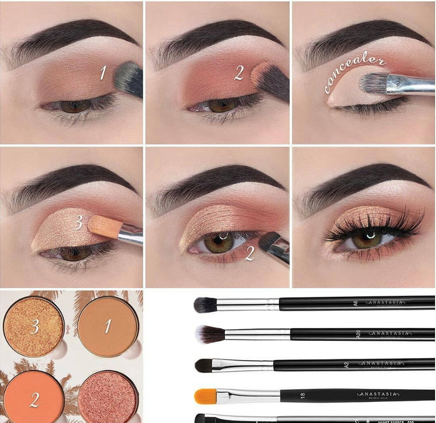 16 Natural Eye Makeup Tutorial For Beginners To Make You Amazing ! – Page 7 of 16