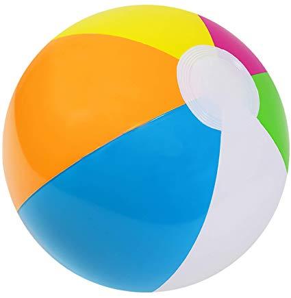 Amazon Com Kangaroo 12 Inflatable Neon Rainbow Beach Ball 12 Pack Pool Toys Beach Balls Toys Games Pool Toys Beach Ball Rainbow Beach