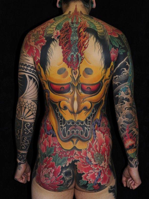 Yakuza Full Body Tattoo Yakuza   samurai   Pin...