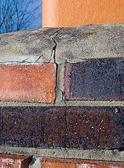 How To Repair Hairline Cracks In Chimney Mortar With Images
